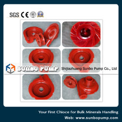 Anti-Corrosion Polyurethane Slurry Pump Spare Parts