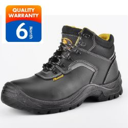 PU Dual Density Fashion Men Women Sports Leather Durable Safety Military Boots Shoes
