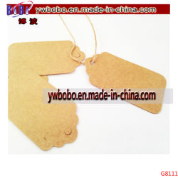 Mini Kraft Gift Tags Luggage Labels Price Tags Garment Label (G8111)