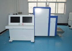 Conveyor Intelligent Color Images X Ray Baggage Scanner