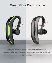 Hanging Ear Wireless Sports Sweat-Proof Business Bluetooth Earphone