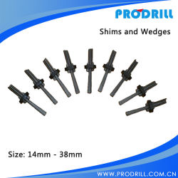 Traditional Manual Type Hand Shims and Splitter/Splitting Wedges for Rock