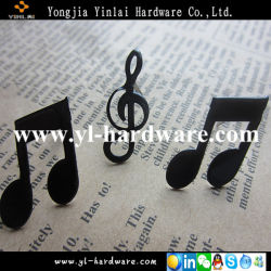 Lovely Musicial Notes Print Brads for Decoration (BD27)