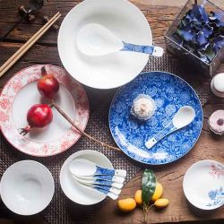 Hotel Porcelain Tableware Plate Bone China Plate Tea Set & China Bone China Tea Set Bone China Tea Set Manufacturers ...