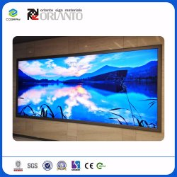 Square Waterproof Aluminum Advertising Indoor and Outdoor Ultra Slim Light Box