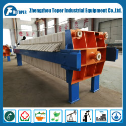 Slurry Dehydration Recessed Filter Press Equipment