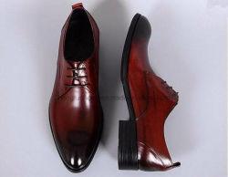Burnished Leather Italian Style Party Wear Men Dress Wedding Shoes