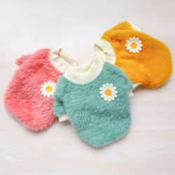 Wholesale Cotton Multi Color Comfortable Dogs Clothes Cats Clothes Autumn and Winter