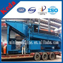 100tph Mineral Gold Trommel Wash Plant for Sales