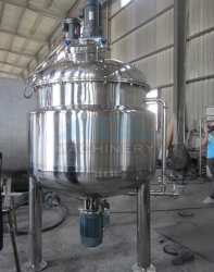 Double Jacketed Stainless Steel Tank with Mixer (ACE-JBG-W5)