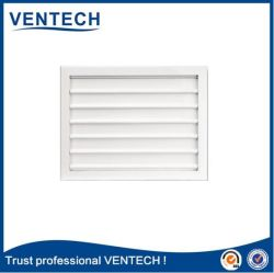 White Color Gravity Air Louver for HVAC System