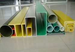 Anti-Corrosion Pultrusion FRP Round Tubes Insulation Material