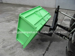 Tipping Transport Box for Tractor 3-Point Linkage
