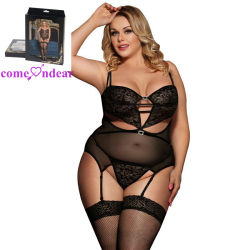 ee3027df7b1 Wholesale Price Fast Delivery Women Plus Size Sexy Black Babydoll