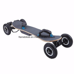 Bamboo Plate Four Wheel off Road Skateboard Electric Dual Motor