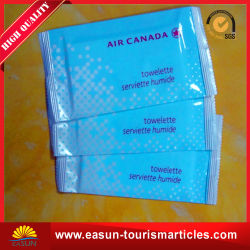 Printed Portable Travel Wet Towel Set Disposable