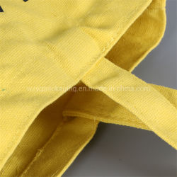 Wholesale Fashion Biodegradable Canvas Cotton Tote Gift Shopping Bag with Long Handle