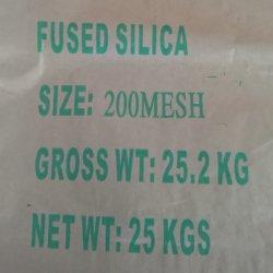 Fused Silica 4-10mesh 10-20mesh, 30-50mesh, 50-100mesh, 200mesh, 325mesh