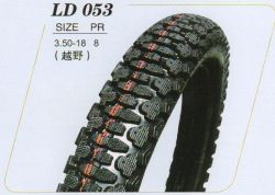ISO: 9001 and DOT Approved Motorcycle Cross Country Tire (3.50-18)