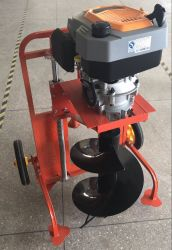 2019 Popular Earth Auger 4-Cycle 225cc 9.0HP Drill Auger Machine Heavy Duty Post Hole Digger