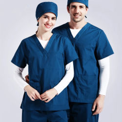 8e30977195a China Factory Wholesale New Fashion Hospital Uniform Medical Nursing Scrubs  Uniform