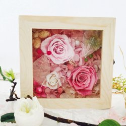 High Quality Wedding Flowers Preserved Roses Flower Gift Wood Box