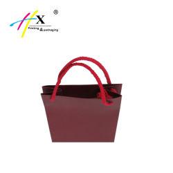 Wholesale Paper Packaging Bag Custom Wine Paper Bag with Handle