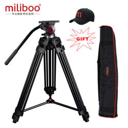 Special Offer Miliboo Professional Portable Video Tripod with Hydraulic Head Digital DSLR Camera Stand Tripod Better