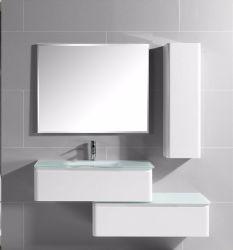 2017 Qilong Hot Selling PVC Bathroom Cabinet With Shelf