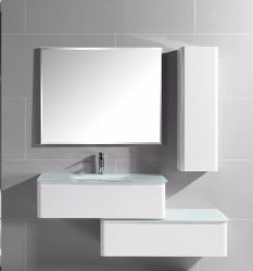 2018 Hot Ing Factory Customized Modern Pvc Bathroom Cabinet With Shelf