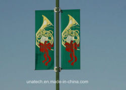 Metal Street Light Pole Advertising Image Media Holder Poster Rod (BS03)