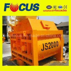 Js2000 Double Axles Concrete Mixer for Hzs120 Concrete Mixing Plant