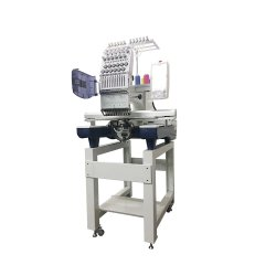 Cheap Brother Two Head Embroidery Machine for Cap /Flat/ T-Shirt /Shoes Embroidery China Industrial Just Like Brother and Tajima Machine