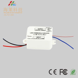 12-36V Constant Current 350mA*1channel LED Mini PWM DC Dimmable Driver
