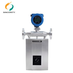 Hight Quality Coriolis Mass Liquid Flow Meter for Limestone Slurry