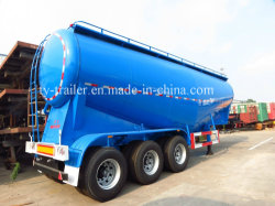 China Factroy Price Bulk Cement Tank Semi Trailer with V-Shape