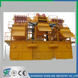 Desanding Plant, Desander, Mud Cleaning Plant, Slurry Cleaning Capacity 500m3/H