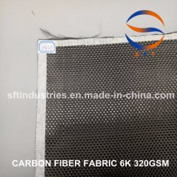 6K 320GSM Plain Twill Weave Carbon for Wind Energy