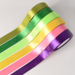 "1"" 25mm Single Face Satin Ribbon for Gifts Wrapping and Party Decor"