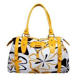 Trendy Canvas Lady Handbags Made of Canvas