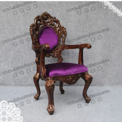 Nice Stylish Purple Seater Chairs for Palace (YC-K002)
