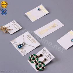 Sinicline Custom Printed Earring Card Necklace Paper Display