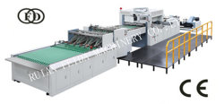 Fast Food Packaging Fully Automatic Stripping Counting Stacking Roll Die Cutting Machine Fdq1100*780