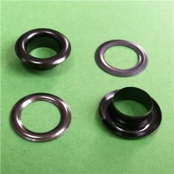 Anti-Brass Oval Metal Eyelet for Bags Oval Eyelet for Curtain