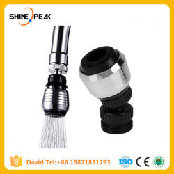 Kitchen Faucet Shower Head Economizer Filter Water Stream Faucet Pull out Bathroom Universal Plastic 360 Rotary