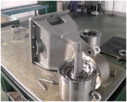 HD Series Hydraulic Milling Drivers