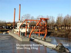 Cutter Suction Dredger with High Quality Hot Sale 2018