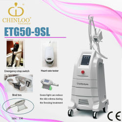 Reduce/Freezing Fat with One Handle Cryolipolysis Beauty Equipment (ETG50-9SL)