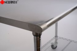 Hotel Restaurant Commercial Kitchen Equipment #201 Stainless Steel Work Table Shelf Wire Rack