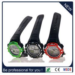 New Fashion Hot Sale Plastic Double Movement Sport Watch